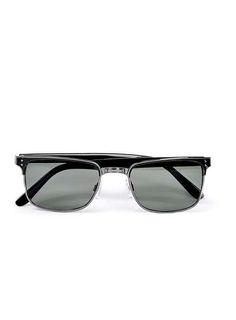 Black Small Square Sunglasses