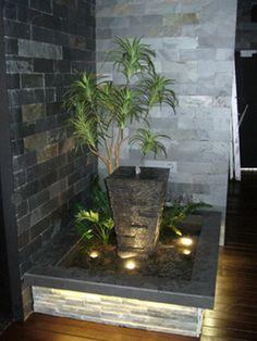 indoor office water features
