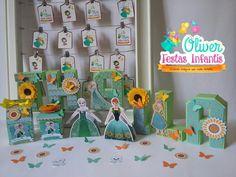 Festa Frozen Fever para Thaila by Oliver Festas Infantis.