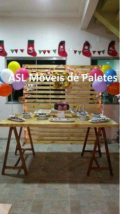 Painel e mesa de paletes Pedidos 92991945468 #decoração  #paletes #sustentabilidade