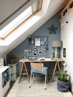 Top 10 Stunning Home Office Design Home Study Rooms, Study Room Decor, Home Office Design, Home Interior Design, House Design, Home Office Furniture, Home Decor Inspiration, Sweet Home, Diy