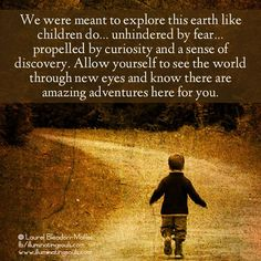 Let's make it a world to be safe enough to explore!