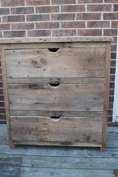 YOUR Custom Rustic Barn Wood Dresser with FREE SHIPPING - BWD525F