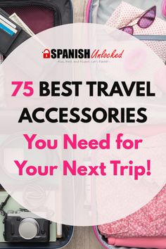 Do you have these in your carry-on bag or suitcase? These travel essentials are not only cool but also super useful! Check out to see if you already have them. These are some of the best travel accessories I've found! These amazing travel products will help make your trip less stressful and more enjoyable, not to mention comfortable! Travel bags & backpacks. #travel #travelessentials #whattopack #packinglist #spain #europe #traveltips #mexico #travelbloggers #travelaccessories