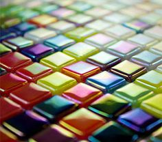 Morjo 12mm Iridescent Recycled Glass Tile
