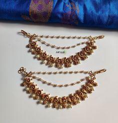 Jewelry Design Earrings, Gold Jewellery Design, Necklace Designs, Gold Jewelry, Jewelery, Gold Necklace, Stylish Jewelry, Fashion Jewelry, Gold Costume Jewelry