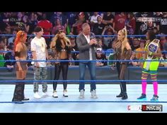 WWE Smackdown All Matches HD Highlights  April 2017