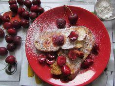 Kulinarne Wariacje: Francuskie grzanki z czereśniami