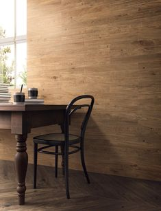 Porcelain stoneware wall/floor tiles with wood effect ARTHIS NATUR Arthis Collection By Ceramiche Caesar Wood Effect Porcelain Tiles, The Doors, Rustic Contemporary, Wall And Floor Tiles, Wishbone Chair, Rustic Style, Natural Wood, Stoneware, Flooring