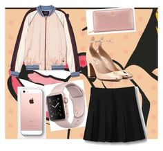 """""""vodoo doll"""" by cottoncandysyrup ❤ liked on Polyvore featuring Maison Scotch, WithChic, Valentino and Tory Burch"""