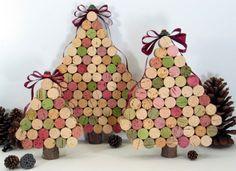 Arbol de navidad de corchos #DIY #reciclaje