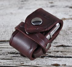 Zippo Lighter Brown Leather Belt Case by Northernleather on Etsy, $24.95