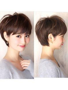 アフロート ルヴア 新宿(AFLOAT RUVUA)新宿美容室 ミセス・大人女子のショートヘア