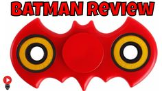 Hand Spinner BATMAN Fidget Spin Test injection Modeled ABS Review ThinkU...
