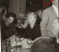 "Marilyn Monroe 1956 in a restaurant called The Ram in Sun Valley, Idaho, during the filming of ""Bus Stop"""