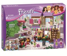 19.97$  Watch now - http://alip52.shopchina.info/1/go.php?t=32794762356 - 389pcs Bela Friends heartlake City Food Market Building Brick Blocks Sets Toy Compatible With 41108 Lepine Friends For Girl 19.97$ #bestbuy