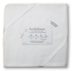 SwaddleDesigns Organic Ultimate Receiving Blanket, Cream Trim $18 SwaddleDesigns,http://www.amazon.com/dp/B003BNY9V4/ref=cm_sw_r_pi_dp_6oCDsb0N67Y35SJG