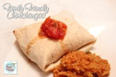 easy mexican chimichangas