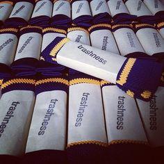 trashnessx:    Restocked: Trashness Rugby knit tie (at trashness HQ)
