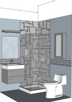 Home Architec Ideas Bathroom Design 4 X 6
