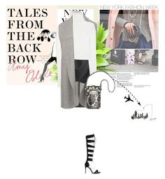 """""""NYFW Street Style"""" by angel-from-heaven ❤ liked on Polyvore featuring Alexandre Birman, Garance Doré, Calvin Klein Collection, Mary Frances Accessories, Plane, StreetStyle and talesfromthebackrow"""