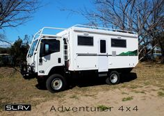 SLR Adventurer 4x4 Expedition Vehicle 4x4 motorhome - Isuzu NPS300