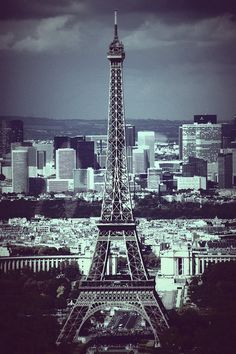 Eiffel Tower, Paris by HelWel, via Flickr