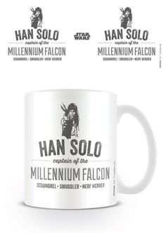 Star Wars - Han Solo - Ceramic Coffee Mug. Dishwasher and microwave safe. Capacity: ca 11oz. Official Merchandise. FREE SHIPPING