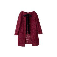MIU MIU ❤ liked on Polyvore featuring outerwear, coats, jackets, coats & jackets, miu miu, purple coat and miu miu coat
