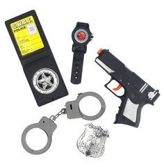 Kit policier enfant : Deguise-toi, achat de Accessoires