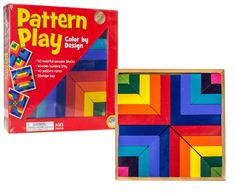 Amazon.com: MindWare Pattern Play: Toys & Games