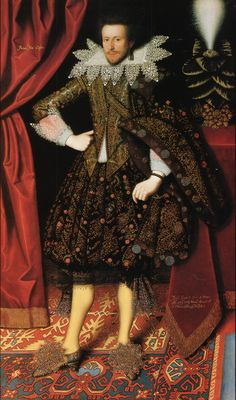 Edward Sackville, later 4th Earl of Dorset, attributed to William Larkin, 1613 England, Kenwood House