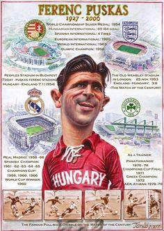 Puskas honved - Buscar con Google Football Cards, Football Players, Real Madrid, Image Foot, Legends Football, Football Design, Best Club, Sport Icon, Soccer World