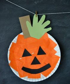 With no carving tools needed, this kid-friendly craft requires minimal supervision. Simply help make the necessary cuts, and then leave your little one to create his or her own masterpiece.