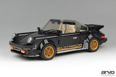 Lego Cars, Lego Duplo, Lego Wheels, Lego Ship, Lego Pictures, Amazing Lego Creations, Porsche 911 Targa, Cool Lego, Awesome Lego