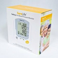 SureLife 860214 Blood Pressure Monitor by SureLife. $30.57. Speaks in 7 languages. Universal cuff. 400 memories. Surelife premium upper arm blood pressure monitor. Speaks in 7 languages. Universal cuff. 400 memories.