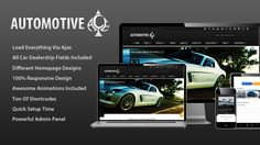 Theme Description:Automotive Ace Pre Theme  Automotive Ace – Responsive Car Dealership Theme  Our Review: Automotive Ace is a 100% Responsive design Car Dealership business WordPress Theme. This theme is runs on WordPress 3.6 Tested and Approved. There are TON of Animations, page and post transitions, sliders, carousels, Ajax is the back-bone of this theme, through which everything is loaded, Sticky headers and footers in all types of layouts and much more. It's price just $49.