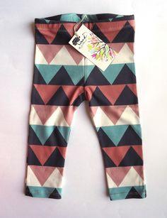 OAK Aztec Triangle Leggings - Girls' Clothing - Children - Products