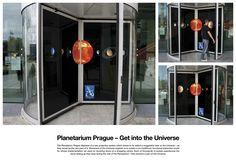 Planetarium Prague Ambient Marketing