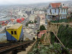 Valparaiso, Chile where my great, great, great grandpa, Ignacio Nostrosa, was born.