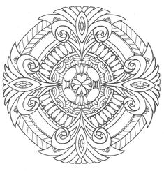 Pure Royalty Adult Coloring Page | FaveCrafts.com