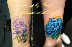 Cover up Tattos, Watercolor Tattoo, Cover Up, Artist, Design, Artists, Watercolor Tattoos, Design Comics, Temp Tattoo