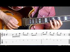 Grant Green jazz guitar lick