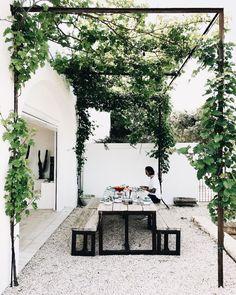 "just-good-design: ""Masseria Moroseta Photo: la sultana.s "" just-good-design: ""Masseria Moroseta Photo: la sultana.s "" The post just-good-design: ""Masseria Moroseta Photo: la sultana. Outdoor Areas, Outdoor Rooms, Outdoor Living, Outdoor Seating, Outdoor Patios, Outdoor Kitchens, Shed Landscaping, Gazebos, Backyard Patio"