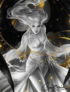 "art-of-cg-girls: "" ImagineFX Cover Issue 126 by Charlie-Bowater "" Dark Fantasy Art, Fantasy Artwork, Fantasy Women, Fantasy Girl, Fantasy Images, Art And Illustration, Fantasy Inspiration, Character Inspiration, Character Portraits"
