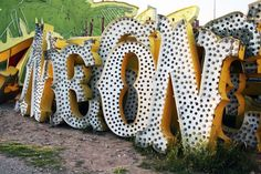 (not neon) at the Neon Museum Boneyard, Las Vegas, NE