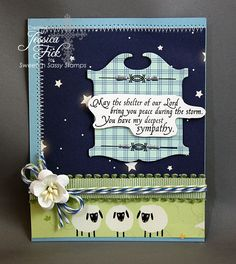 iEmbellish: Sheltering Cherry blossoms stamp set