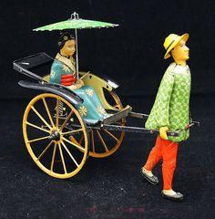 Lehmann antique scrimshaw tin toy