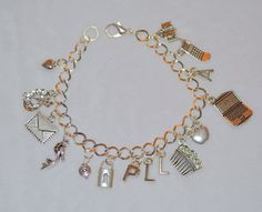 Airmail shipping is free anywhere in the world.    For any fan of Pretty Little Liars, this charm bracelet is the one for you! Celebrate your