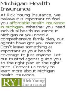 Rick Young & Associates: Michigan Health Insurance  http://www.rickyounginsurance.com/